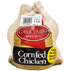 Chicken - Whole Cornfed (1.3kg-1.6kg) Game Farm