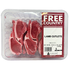 Lamb - Cutlets (300-500g) Free Country