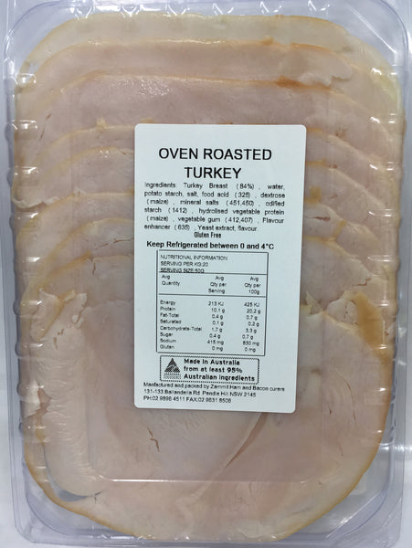Zammit Oven Roasted Turkey | Harris Farm Online