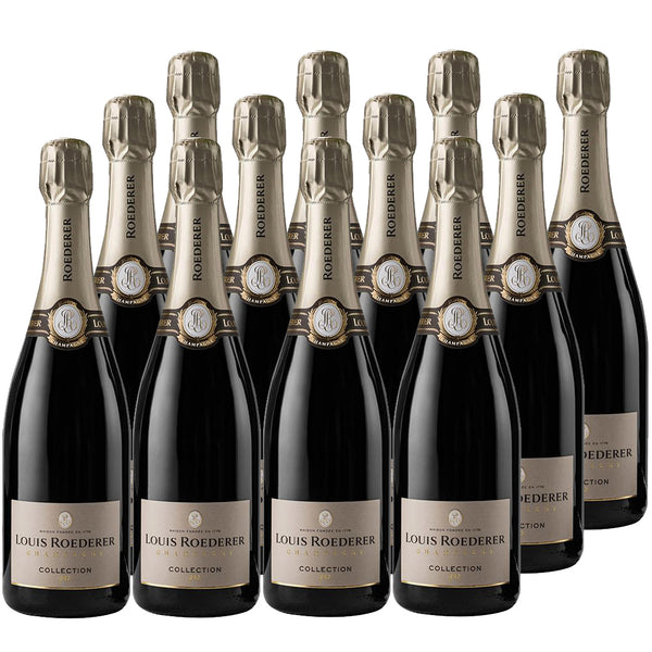 Louis Roederer - Champagne - Brut Premier - A' Reims, France (Case Sale, 12 Bottles x 375mL)