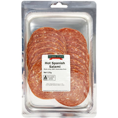 Deli - Salami Spanish Hot (125g) Harris Farm