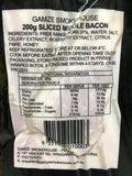 Bacon - Middle Sliced - Free range & Wood Smoked (200g) Gamze Smokehouse