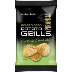 Piranha Golden Hash Potato Grills Sour Cream and Sweet Chilli | Harris Farm Online