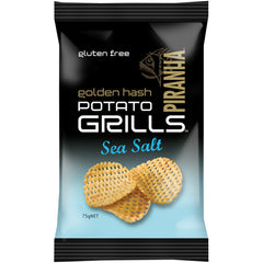 Piranha Golden Hash Potato Grills Sea Salt | Harris Farm Online