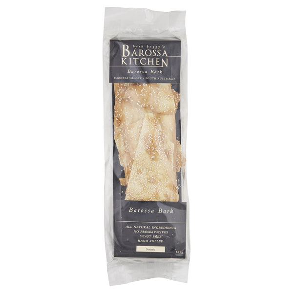 Barossa Sesame Flatbread 100g , Grocery-Biscuits - HFM, Harris Farm Markets  - 1