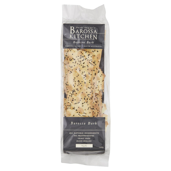 Barossa Nigella Flatbread 100g , Grocery-Biscuits - HFM, Harris Farm Markets  - 1