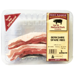 Pork - Spare Ribs (250-450g) Berkshire