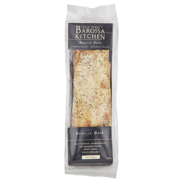 Barossa Salt Flatbread 100g , Grocery-Crackers - HFM, Harris Farm Markets  - 1