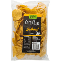 The Market Grocer Corn Chips Natural | Harris Farm Online