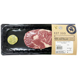 Beef - Ribeye Steak - Garlic Herb Butter (200-400g) Argyle Prestige