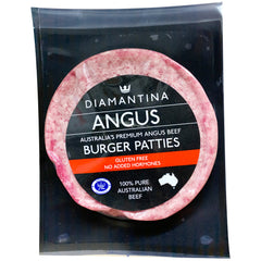 Beef - Angus Burgers Patties (150g) Diamantina