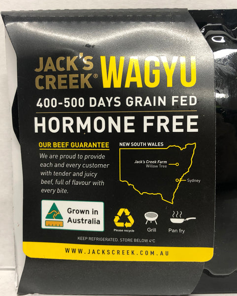Beef - Wagyu Rump Steak (200-400g) Jacks Creek