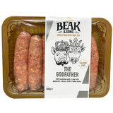 Beak and Sons The Godfather Pork and Beef Sausages 500g