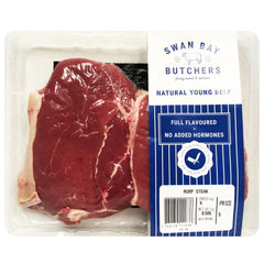 Beef - Rump Steak (300-600g) Swan Bay Butchers