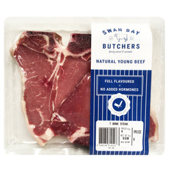Beef - T Bone Steak (400-600g) Swan Bay Butchers