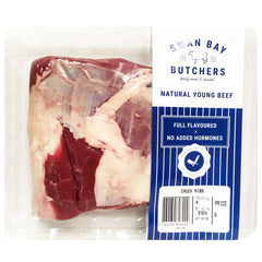 Beef - Chuck Rib (300-750g) Swan Bay Butchers