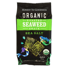 Honest to Goodness - Organic roasted seaweed Snack - Sea Salt (4g)
