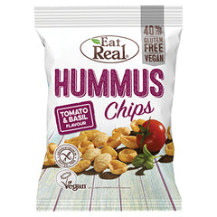 Eat Real Hummus Chips Tomato and Basil | Harris Farm Online