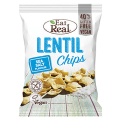 Eat Real Lentil Chips Sea Salt | Harris Farm Online