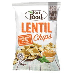 Eat Real Lentil Chips Mango and Mint Infused | Harris Farm Online