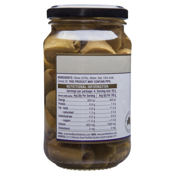 Penfield Olives Green Pitted 380g , Grocery-Antipasti - HFM, Harris Farm Markets  - 2
