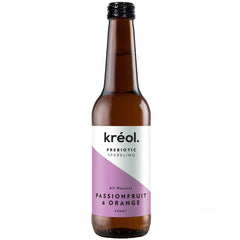 Kreol - Prebiotic Sparkling Drink - Passionfruit & Orange | Harris Farm Online