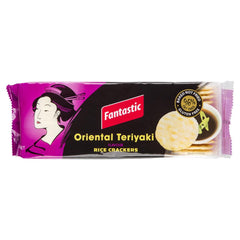 Fantastic Rice Crackers Oriental Teriyaki 100g , Grocery-Biscuits - HFM, Harris Farm Markets  - 1