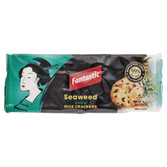 Fantastic Rice Cracker Seaweed 100g , Grocery-Biscuits - HFM, Harris Farm Markets  - 1