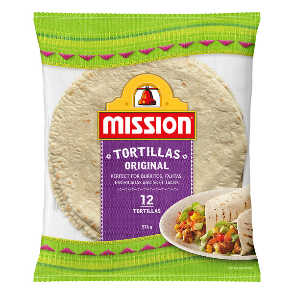 Mission Original Tortillas x12 576g