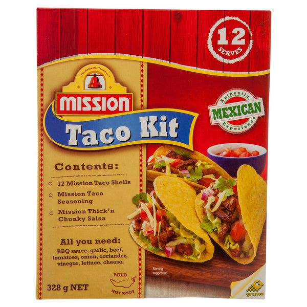 Mission Taco Dinner Kit 310g , Z-Bakery - HFM, Harris Farm Markets  - 1