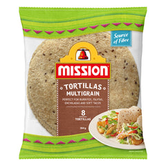 Mission - Tortillas - Multigrain (8 Tortillas, 384g)
