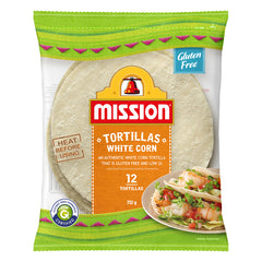 Mission - Tortillas - White Corn (12 Tortillas, 312g)