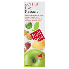 Fruit Wise Five Flavours 140g , Grocery-Confection - HFM, Harris Farm Markets  - 1