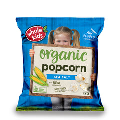 Whole Kids - Popcorn Organic - Sea Salt (12g)