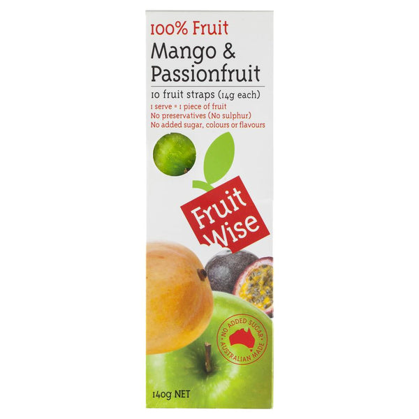 Fruit Wise Mango Passionfruit 140g , Grocery-Confection - HFM, Harris Farm Markets  - 1