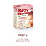Baby Mum Mum - Organic Rice Rusks - Original | Harris Farm Online
