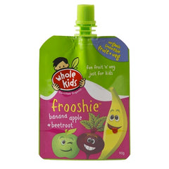 Whole Kids - Frooshie Organic - Banana Apple & Beetroot (90g)