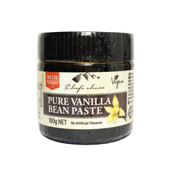 Chefs Choice - Pure Vanilla Bean Paste - with Seeds (100mL)