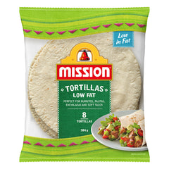 Mission - Tortillas - Low Fat (8 Tortillas, 384g)
