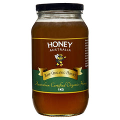 Honey Australia Certified Raw Organic 1Kg , Grocery-Spreads - HFM, Harris Farm Markets  - 1