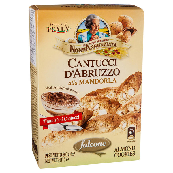 Falcone Cantucci Dabruzzo Almond Cookies pack , Grocery-Biscuits - HFM, Harris Farm Markets  - 2