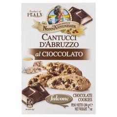 Cantucci Dabruzzo Crisp Chocolate Cookies 200g , Grocery-Biscuits - HFM, Harris Farm Markets  - 1