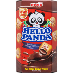 Meiji - Hello Panda - Biscuit Chocolate and Cream | Harris Farm Online