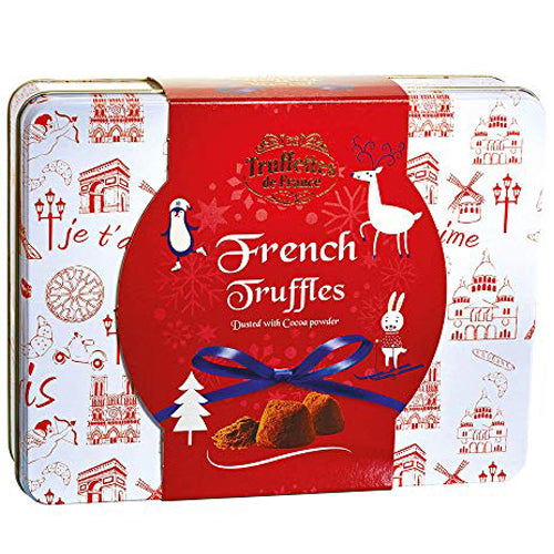 Chocmod - French Chocolate Truffles Fantaisie - Black Tin (500g)