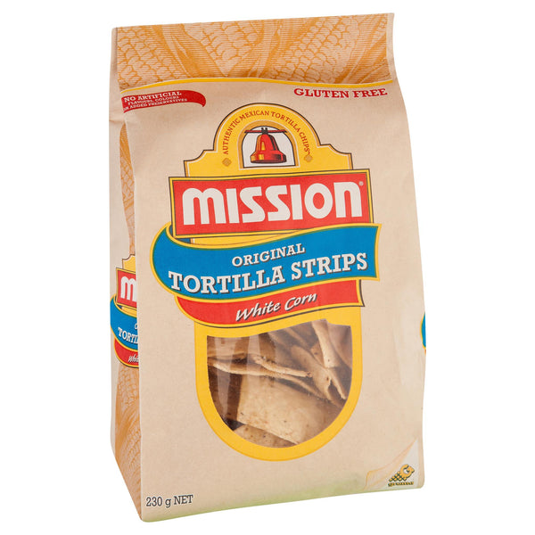 Mission Corn Chips White 230g , Grocery-Confection - HFM, Harris Farm Markets  - 1