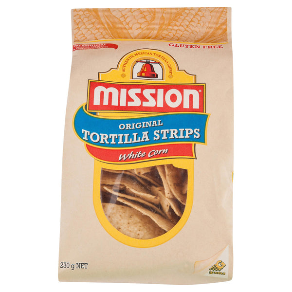 Mission Corn Chips White 230g , Grocery-Confection - HFM, Harris Farm Markets  - 2