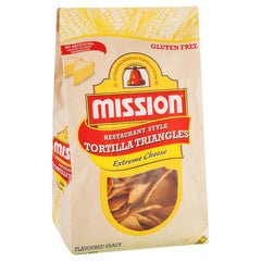 Mission Corn Chips Cheese 230g , Grocery-Confection - HFM, Harris Farm Markets  - 1