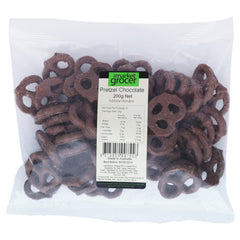 Market Grocer Pretzels Chocolate 200g , Grocery-Confection - HFM, Harris Farm Markets