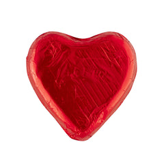 Pink Lady Red Foiled Heart Milk Chocolate | Harris Farm Online