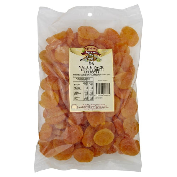Yummy Apricots Dried 750g , Grocery-Nuts - HFM, Harris Farm Markets  - 1